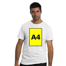 Biała koszulka z Twoim nadrukiem
