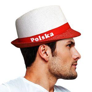 Kapelusz Polska Biało Czerwony